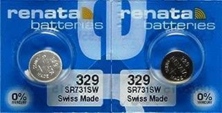 Best renata 329 battery Reviews