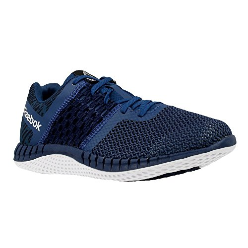 Reebok ZPRINT RUN HAZARD GP, Damen Laufschuhe , Blau (Noble Blue / Collegiate Navy / White), 37.1/3 EU (4.5 UK)