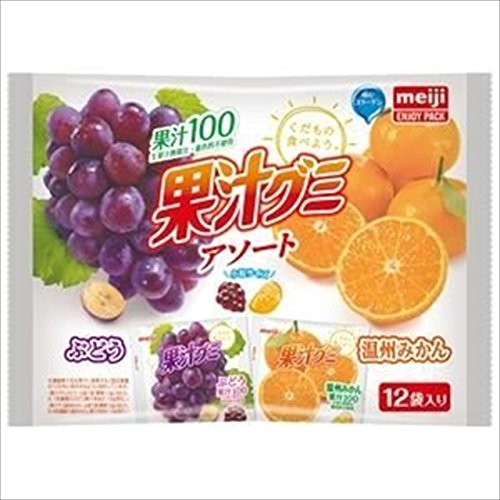明治『果汁グミアソート』