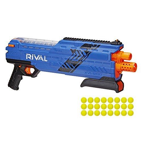 NERF Rival Atlas XVI 1200 Blaster Toy, Blue