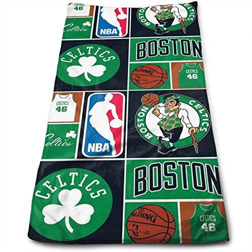 HangHisi Unisex Towel Boston Basketball Cel-tics Bathroom face Towel, Beach Towel, Adult Towel, Child Towel, Hand Bath Towels, Towel 3070