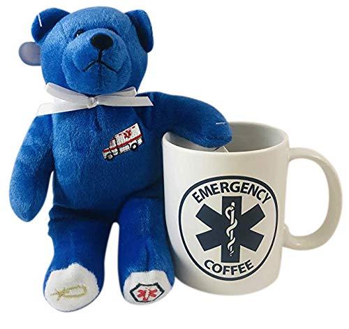 Ambulance Emergency Teddy Bear And Mug