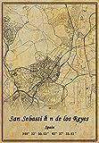 Spanien San Sebastián de los Reyes Wandkunst-Poster auf