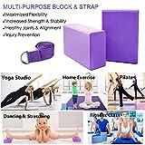 Zoom IMG-1 kidshobby 2pcs blocchi di yoga