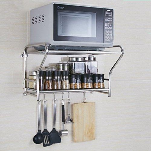KUN PENG SHOP Acciaio inossidabile cucina con forno a microonde parete del forno A+ ( dimensioni : 54cm )