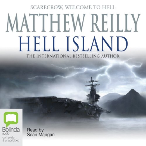 Hell Island audiobook cover art