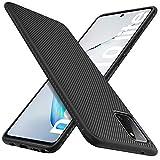 iBetter Diseño para Samsung Galaxy Note 10 Lite Funda, Fina de Silicona [Resistente a los arañazos ] Funda para Samsung Galaxy Note 10 Lite Smartphone.Negro