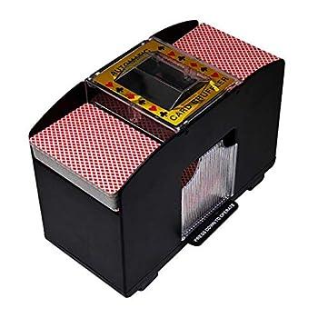 Automatic Playing Card Shuffler Battery Operated 2/4/6 Deck Bridge Poker Poker Uno Electric Poker Shuffling Machine Three Models to Choose