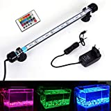 MLJ LED Aquarium Lighting Luce di Pesce Drago Illuminazione per Acquario Impermeabile (Deutschland Lagerhaus) (28cm, RGB)