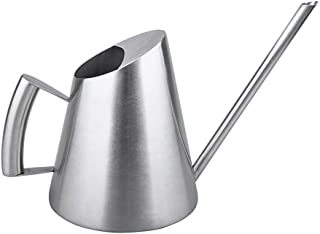 IMEEA Small Watering Can Brushed 18/8 Stainless Steel Modern Mini Size for Bonsai Office Kids 11oz/300ml