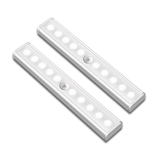 Led Light Bar Ir Motion Sensor Wall Lamp With Hooks Built-in Light Sensor On/off Battery Operated For Bedroom Hallway Pathway Big Clearance Sale Lights & Lighting