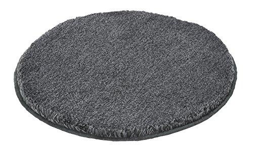 Kleine Wolke 5405901521 Badteppich Relax 100 cm rund d anthrazit