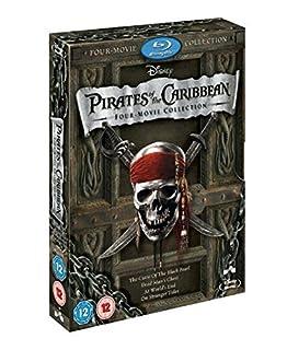 Pirates of the Caribbean 1-4 Box Set [Blu-ray] (B0058H9LZU) | Amazon price tracker / tracking, Amazon price history charts, Amazon price watches, Amazon price drop alerts