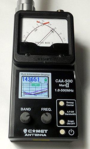 コメット COMET アンテナアナライザー CAA-500 MarkⅡ