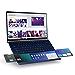 "Asus ZenBook 14 Ultra-Slim Laptop 14"" Full HD NanoEdge Bezel, Intel Core i7-10510U, 16GB RAM, 512GB PCIe SSD, GeForce MX250, Innovative Screenpad 2.0, Windows 10 Pro, UX434FLC-XH77, Royal Blue (Renewed)"