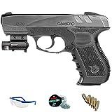Gamo Pack GP20 Combat LÁSER - Pistola de Aire comprimido (CO2) y balines de Acero (perdigones) Cal 4.5mm.