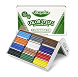 Crayola Woodless Colored Pencils Bulk, 120 Count Classpack, 12 Assorted Colors