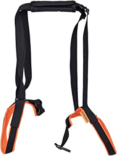 CONVELIFE Dog Halter Harnesses Lifting Aid Harness for Dogs, Injury, Disabled or Elderly, Walking Lifting Carry, Mobility Lift, Lift Dog Strap, Front or Rear Support