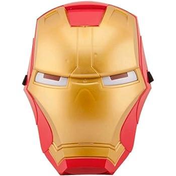 FancyDressWale Superhero The Adventures Costume LED Light Eye Mask