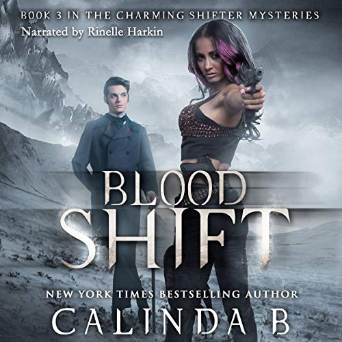 Blood Shift audiobook cover art