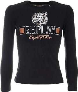 REPLAY T-Shirt M/L Algodón Chica