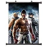 ActRaise Tekken Anime Fabric Wall Scroll Poster (32' x 41') Inches [A]-Tekken-142 (L)
