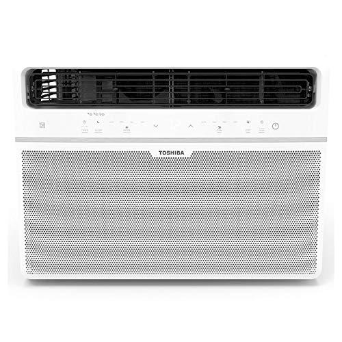 Toshiba RAC WK1821ESCRU 18000 BTU Window Air Conditioner and Dehumidifier w/ Remote Control, Washable Filter, and Energy Star (Renewed)
