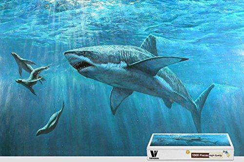 1000 piece shark puzzle - 9