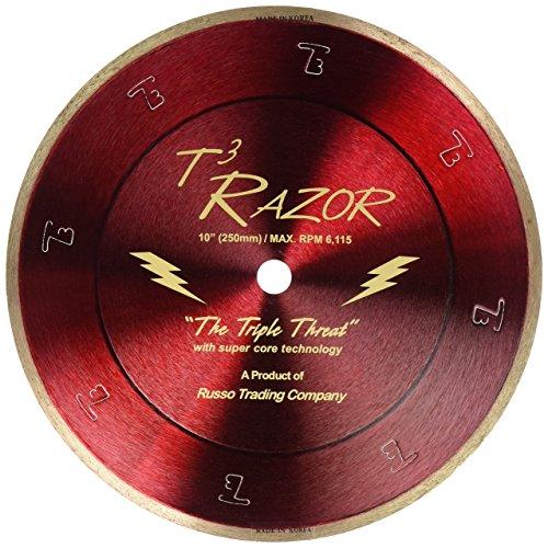RTC T3 Razor Gold Diamond Blade, 10-Inch , Red