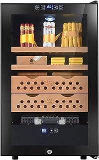 Humidors Cigarr intelligent luftfuktighetskontroll cigarr skåp konstant temperatur och luftfuktighet cigarr skåp cederträ...