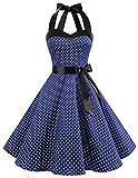 DRESSTELLS, Version3.0 Vintage 1950's Audrey Hepburn pin-up Robe de soirée Cocktail,...