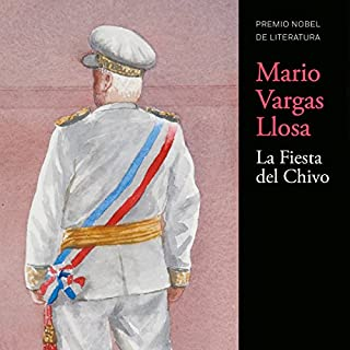 La Fiesta del Chivo [The Festival of Chivo] audiobook cover art