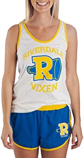 Juniors Riverdale Gym Outfit Riverdale Vixens Tank & Short Set Riverdale Gift - Riverdale Clothing Riverdale Apparel