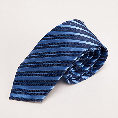 ZBPD Herren Hochzeits Krawatte Business Krawatte Polyester Krawatte,G,145 * 8 * 3.5CM
