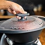 mixcover Mango térmico para vapor, compatible con Thermomix TM6 TM5 TM31 TM Friend Silvercrest Monsieur Cuisine Bosch Cookit y muchos más
