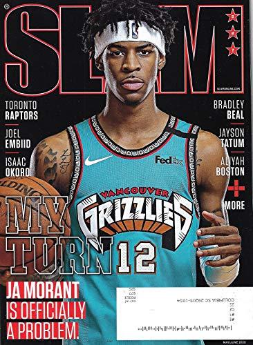 SLAM Magazine (May June, 2020) JA MORANT Cover
