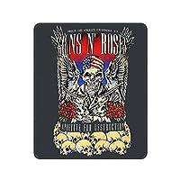 GUNS N ROSES ガンズアンドローゼズ マウスパッド ゲーミングマウスパッド おしゃれ耐久性 滑り止め マウスパッド マウスパッド ゲーミング オフィス最適 30 * 25 * 0.3cm
