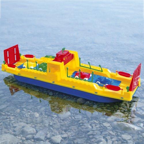 Giplam S.R.L- 62 x 13 x 14 cm Ferryboat (Large/One Size) Barca Traghetto Grande Cm.62 434, Multicolore, 892004