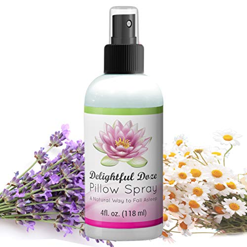 Delightful Doze Lavender Pillow Spray for Sleep - Pillow Mist for a Deep Sleep - Lavender Linen Spray Made from 100% Essential Oils