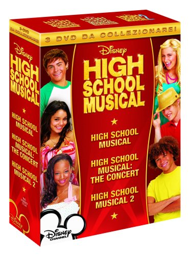High School Musical 1 & 2 & Concerto (3 Dvd) [Italia]