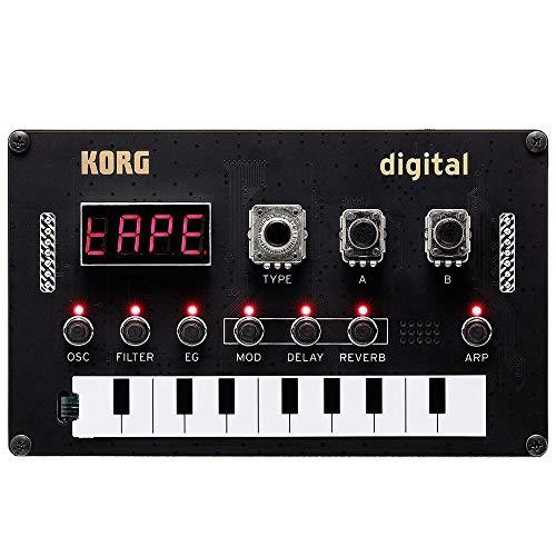 KORG(コルグ) Nu:Tekt NTS-1 digital kit はんだ付けなしで組み立て可能 DIY シンセキット USBバスパワー ソフトウェアライセンス込み