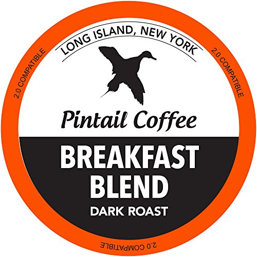 Pintail Coffee - 48 Count Breakfast Blend Dark Roast K Cup Coffee Single Serve Coffee Pods, Compatible With Keurig K-Cup Brewers