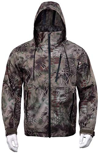 Tactical Jacket-Ski Jacket-Outdoor Waterdichte Jas Kit Militaire Stijl Mannen Camo Combat Tracksuit Warm Waterdicht Winddicht Militaire Lading Tactische Broek Geschikt voor Mountain Walking Camping, Pant