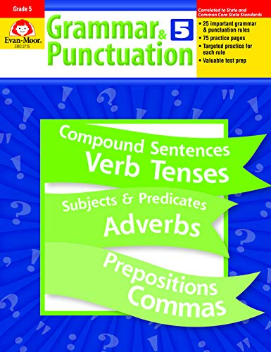 Compare Textbook Prices for Grammar and Punctuation, Grade 5 Pap/Cdr Edition ISBN 0884759735273 by Evan Moor,Evan-Moor