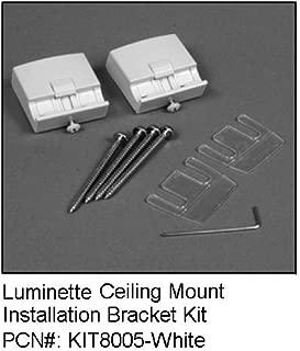 Hunter Douglas luminette Celing Mount brackets (1Pair)