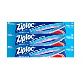 Ziploc Freezer Bags, Double Zipper, Two Gallon, 10 Count, Pack of 3 (30 Total Bags)