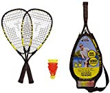 Talbot-Torro Speed-Badminton Set Speed 4400, 2 handliche Alu-Rackets 54,5cm, 3 windstabile Bälle,...