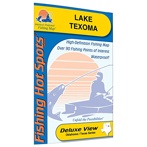 Texoma Fishing Map, Lake