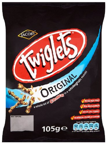 Jacobs Original Twiglets 12 x 105g