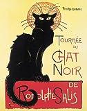 Theophile Steinlen-Chat Noir (Black Cat Cabaret)